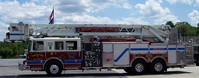 Tower 34 Fire truck